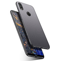 Hard Rigid Plastic Quicksand Cover Case for Huawei Honor Note 10 Gray