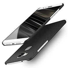 Hard Rigid Plastic Quicksand Cover for Huawei G7 Plus Black