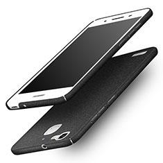 Hard Rigid Plastic Quicksand Cover for Huawei G8 Mini Black