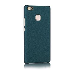 Hard Rigid Plastic Quicksand Cover for Huawei G9 Lite Blue