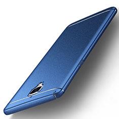 Hard Rigid Plastic Quicksand Cover for OnePlus 3 Blue