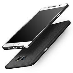 Hard Rigid Plastic Quicksand Cover for Samsung Galaxy Note 5 N9200 N920 N920F Black