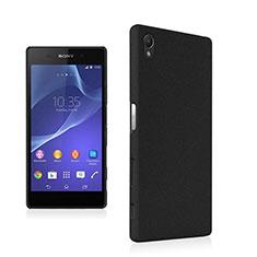 Hard Rigid Plastic Quicksand Cover for Sony Xperia Z5 Black