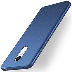 Hard Rigid Plastic Quicksand Cover for Xiaomi Redmi Note 4X High Edition Blue