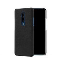 Hard Rigid Plastic Quicksand Cover Q01 for OnePlus 7T Pro Black
