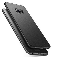 Hard Rigid Plastic Quicksand Cover Q01 for Samsung Galaxy S6 SM-G920 Black