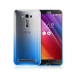 Hard Rigid Transparent Gradient Cover for Asus Zenfone 2 Laser ZE500KL ZE550KL Blue