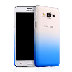 Hard Rigid Transparent Gradient Cover for Samsung Galaxy On5 Pro Blue