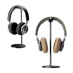 Headphone Display Stand Holder Rack Earphone Headset Hanger Universal H01 Black