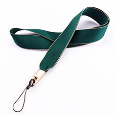 Lanyard Cell Phone Neck Strap Universal N08 for Xiaomi Redmi 9 Prime India Green