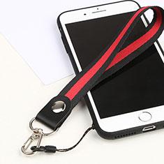 Lanyard Cell Phone Strap Universal K01 Red