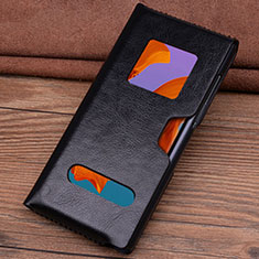 Leather Case Flip Cover T05 Holder for Huawei Mate Xs 5G Black