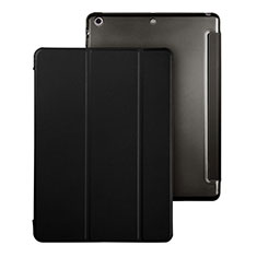Leather Case Stands Flip Cover for Apple iPad Air Black