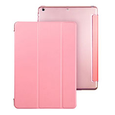 Leather Case Stands Flip Cover for Apple iPad Air Pink