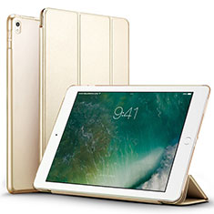 Leather Case Stands Flip Cover for Apple iPad Pro 12.9 (2017) Gold