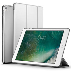 Leather Case Stands Flip Cover for Apple iPad Pro 12.9 (2017) Silver