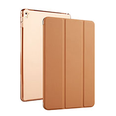 Leather Case Stands Flip Cover for Apple iPad Pro 9.7 Brown