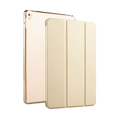 Leather Case Stands Flip Cover for Apple iPad Pro 9.7 Gold