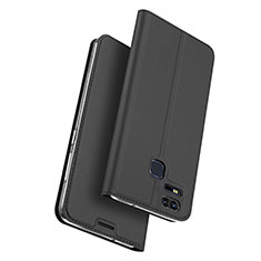 Leather Case Stands Flip Cover for Asus Zenfone 3 Zoom Black