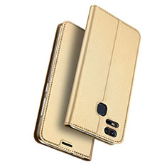 Leather Case Stands Flip Cover for Asus Zenfone 3 Zoom Gold