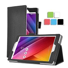 Leather Case Stands Flip Cover for Asus ZenPad C 7.0 Z170CG Black
