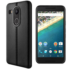 Leather Case Stands Flip Cover for Google Nexus 5X Black