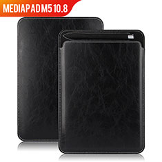 Leather Case Stands Flip Cover for Huawei MediaPad M5 10.8 Black