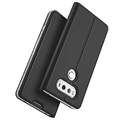 Leather Case Stands Flip Cover for LG G6 Black