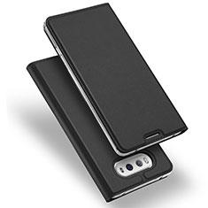 Leather Case Stands Flip Cover for LG V20 Black