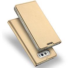 Leather Case Stands Flip Cover for LG V20 Gold
