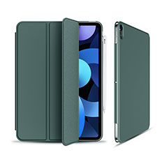 Leather Case Stands Flip Cover Holder for Apple iPad Air 10.9 (2020) Green