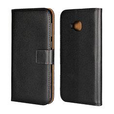 Leather Case Stands Flip Cover Holder for Asus Zenfone 4 Selfie Pro Black