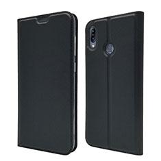 Leather Case Stands Flip Cover Holder for Asus Zenfone Max M2 ZB633KL Black
