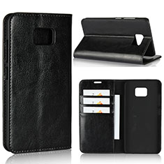 Leather Case Stands Flip Cover Holder for Asus ZenFone V V520KL Black