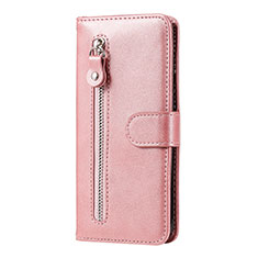 Leather Case Stands Flip Cover Holder for Huawei Honor 9A Rose Gold