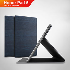 Leather Case Stands Flip Cover Holder for Huawei Honor Pad 5 10.1 AGS2-W09HN AGS2-AL00HN Blue