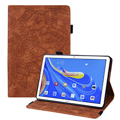 Leather Case Stands Flip Cover Holder for Huawei MatePad 10.8 Brown