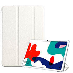 Leather Case Stands Flip Cover Holder for Huawei MatePad 5G 10.4 White