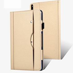 Leather Case Stands Flip Cover Holder for Huawei MatePad Pro 5G 10.8 Gold