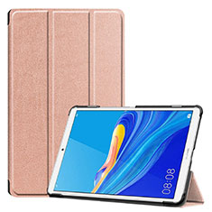 Leather Case Stands Flip Cover Holder for Huawei MediaPad M6 8.4 Rose Gold