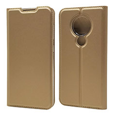 Leather Case Stands Flip Cover Holder for Nokia 7.2 Gold