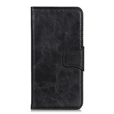 Leather Case Stands Flip Cover Holder for Oppo Reno3 A Black