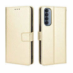 Leather Case Stands Flip Cover Holder for Oppo Reno4 Pro 4G Gold
