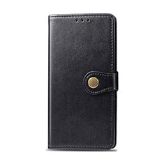 Leather Case Stands Flip Cover Holder for Realme 6i Black