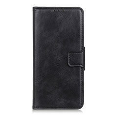 Leather Case Stands Flip Cover Holder for Sony Xperia 5 Black