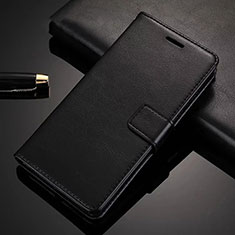 Leather Case Stands Flip Cover Holder for Xiaomi Redmi K30 5G Black