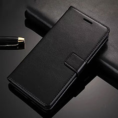 Leather Case Stands Flip Cover Holder for Xiaomi Redmi Note 8 Pro Black