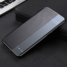 Leather Case Stands Flip Cover K09 Holder for Huawei Mate 40 Pro Black