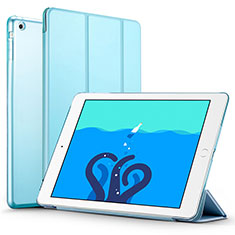 Leather Case Stands Flip Cover L01 for Apple iPad Air Sky Blue