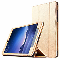 Leather Case Stands Flip Cover L01 for Xiaomi Mi Pad 3 Gold
